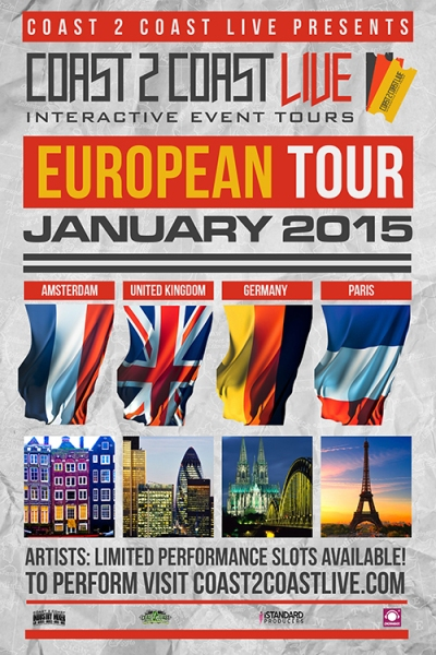 Coast 2 Coast Industry Mixer Europe Tour