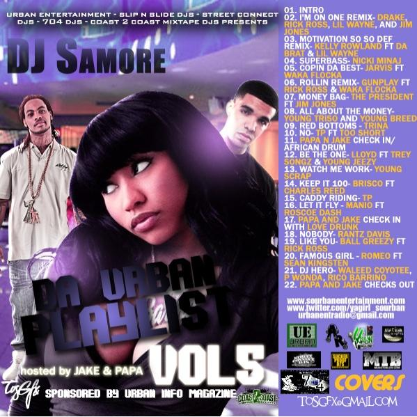 da urban playlist vol 5 hosted by jake papa mixed by yodj sourban