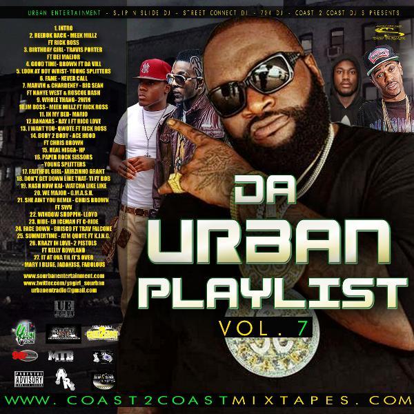 da urban playlist vol 7 mixed by yodj sourban