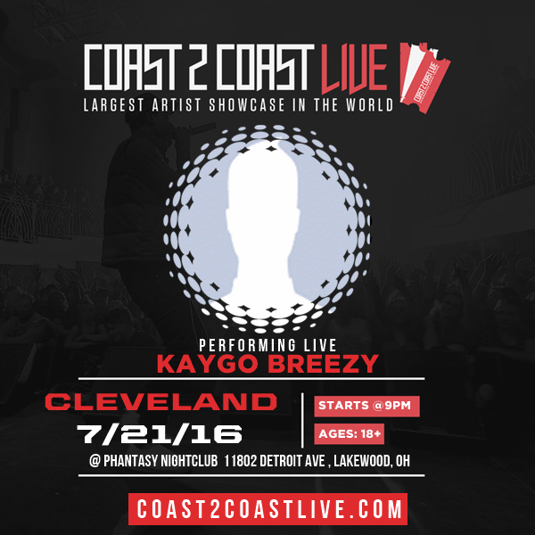 Kaygo Breezy - Kaygo Breezy Performs at Coast 2 Coast LIVE