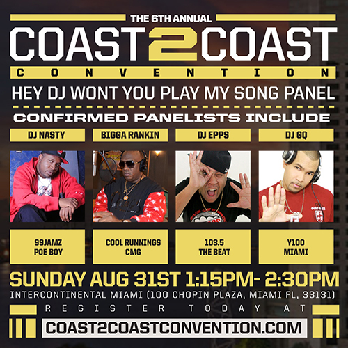 Coast 2 Coast Convention 2014 DJ Panel