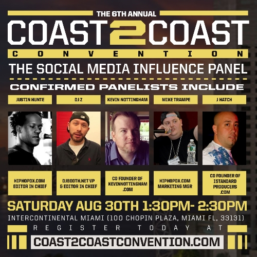 Coast 2 Coast Convention 2014 Media Panel