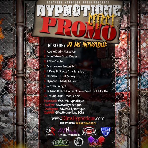 The Hypnotique Effect   Mixed by @DJMsHypnotique