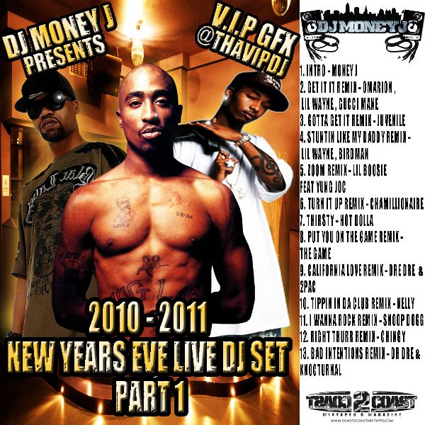 2010 - 2011 NEW YEARS EVE LIVE DJ SET PART 1   Mixed by