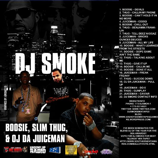 Triple Threat: Lil Boosie, Slim Thug, & Oj Da Juiceman (Mixtape #46